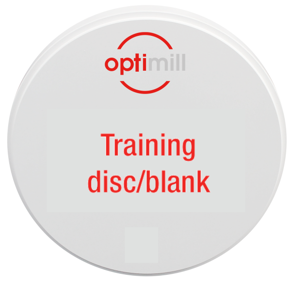 optimill Training disc/blank